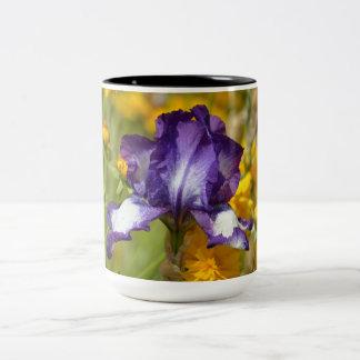Iris pourpre mug