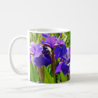 Iris pourpres ! tasse à café