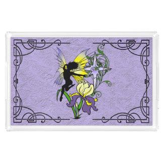 Iris Shadow Fairy Acrylic Tray