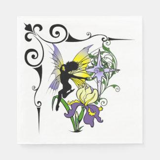Iris Shadow Fairy Disposable Napkin