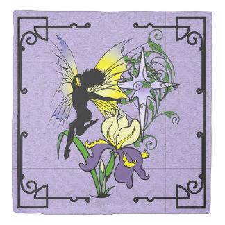 Iris Shadow Fairy Duvet Cover