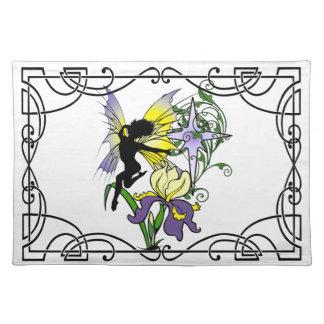 Iris Shadow Fairy Placemat
