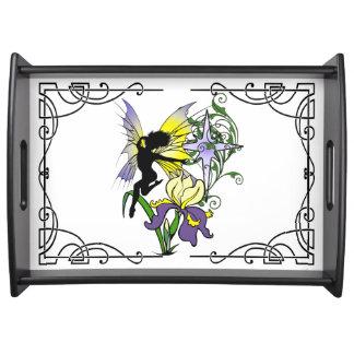 Iris Shadow Fairy Serving Tray