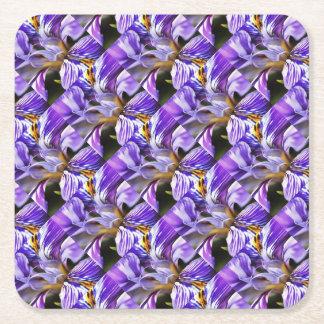Iris Square Paper Coaster