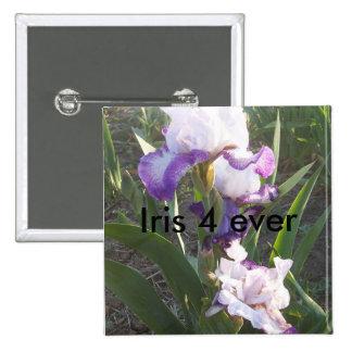 Iris Square Pin