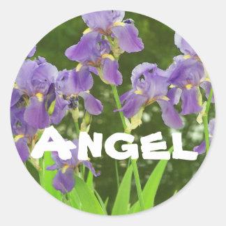 iris sticker name:, Angel