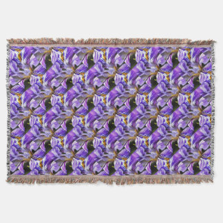 Iris Throw Blanket