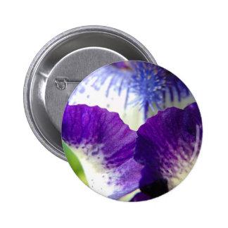 Iris Unfolding 2 Inch Round Button