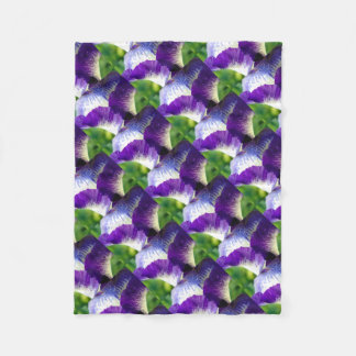 Iris Unfolding Fleece Blanket