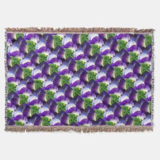 Iris Unfolding Throw Blanket