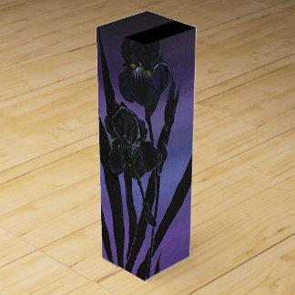 Iris Wine Box