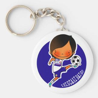 IRISCA&IBAIGO key ring soccer