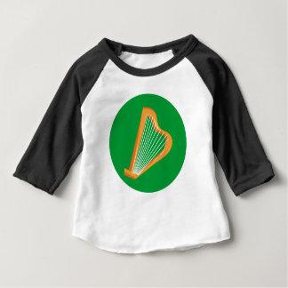Irische Harfe Irish harp Baby T-Shirt