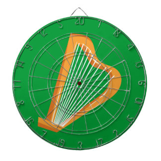 Irische Harfe Irish harp Dartboard
