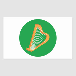 Irische Harfe Irish harp Sticker