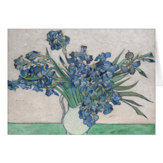 Irises, 1890 card