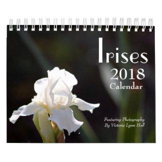 Irises 2018 Calendar
