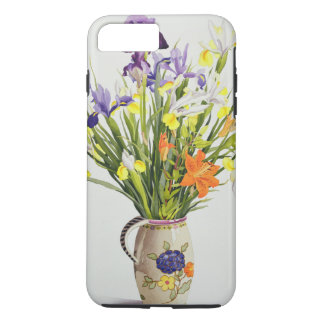 Irises and Lilies in a Dutch Jug iPhone 7 Plus Case