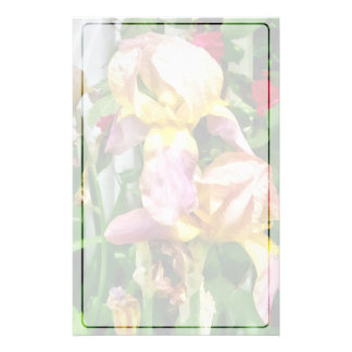 Irises By Picket Fence Stationery