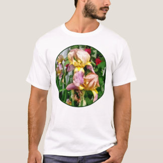 Irises By Picket Fence T-Shirt