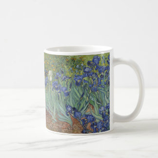 Irises by Van Gogh Classic White Coffee Mug