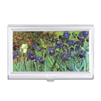 Irises by Van Gogh Fine Art Business Card Holder
