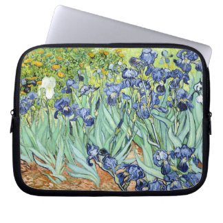 Irises by Van Gogh Laptop Sleeve