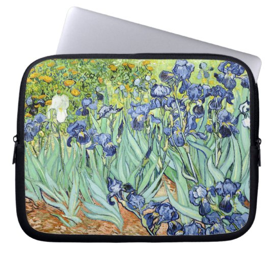 Irises by Van Gogh Laptop Sleeve