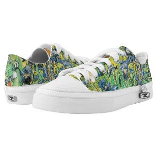 Irises by Van Gogh Low-Top Sneakers