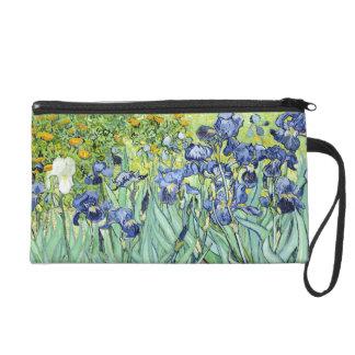 Irises by Van Gogh Wristlet