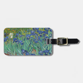 Irises by Vincent Van Gogh 1889 Luggage Tag