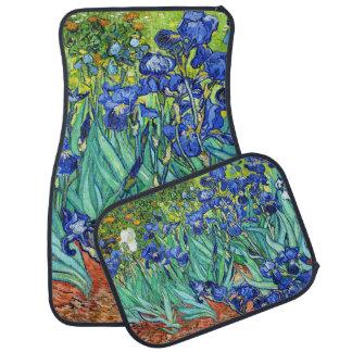 Irises By Vincent Van Gogh Car Mat