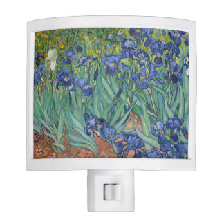 Irises by Vincent Van Gogh Nite Lights
