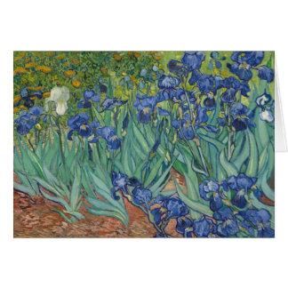 Irises by Vincent van Gogh May 1889 Card