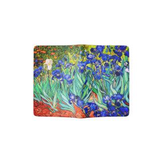 Irises By Vincent Van Gogh Passport Holder