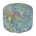 Irises by Vincent Van Gogh Pouf