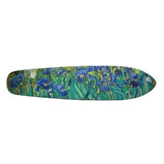 Irises by Vincent van Gogh Skate Board Deck