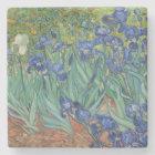 Irises by Vincent Van Gogh Stone Coaster