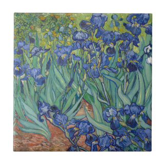 Irises by Vincent Van Gogh Tile