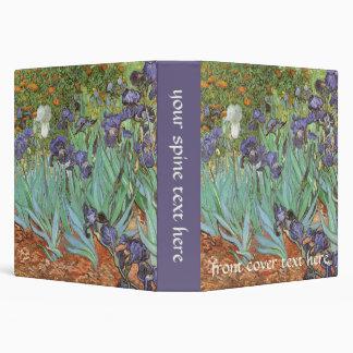 Irises by Vincent van Gogh, Vintage Flowers Art Binders