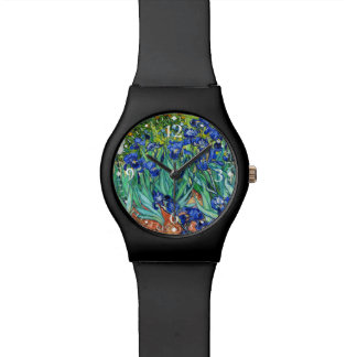 Irises By Vincent Van Gogh Watch