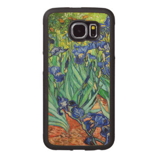 Irises By Vincent Van Gogh Wood Phone Case
