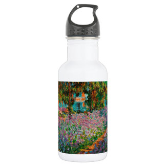 Irises In Monets Garden 532 Ml Water Bottle