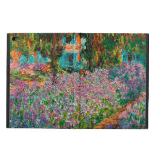 Irises In Monets Garden At Giverny by Claude Mone Powis iPad Air 2 Case