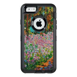 Irises In Monets Garden Giverny OtterBox Defender iPhone Case