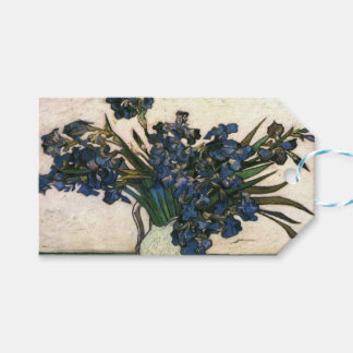 Irises In Vase (Van Gogh) Gift Tags