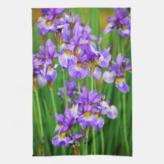 Irises Kitchen Towel