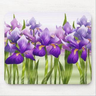 Irises mousepad
