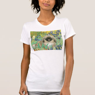 Irises - Pekingese 1b T-Shirt