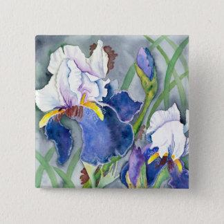 """Irises"" Pin"